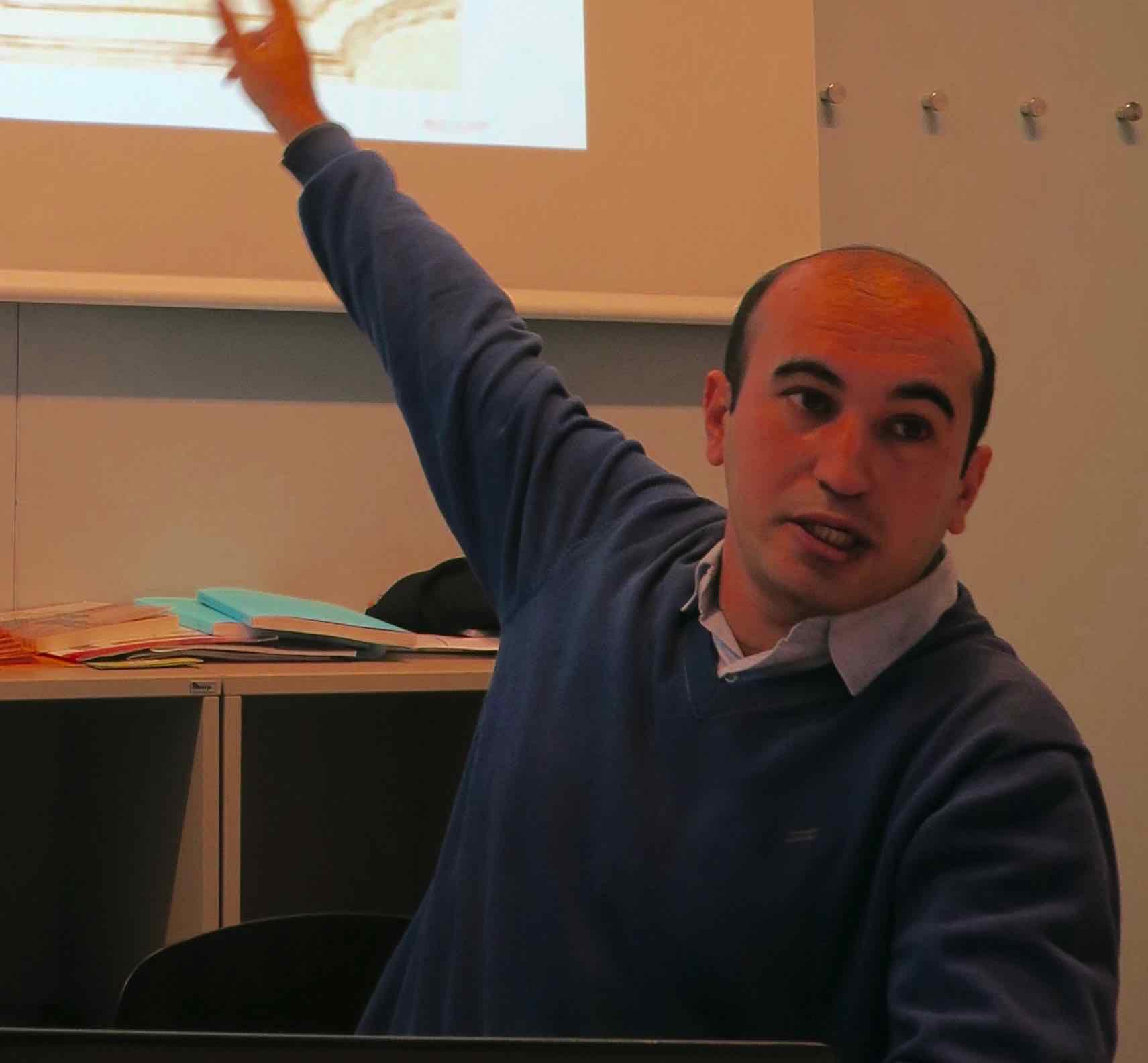 Agil presenting